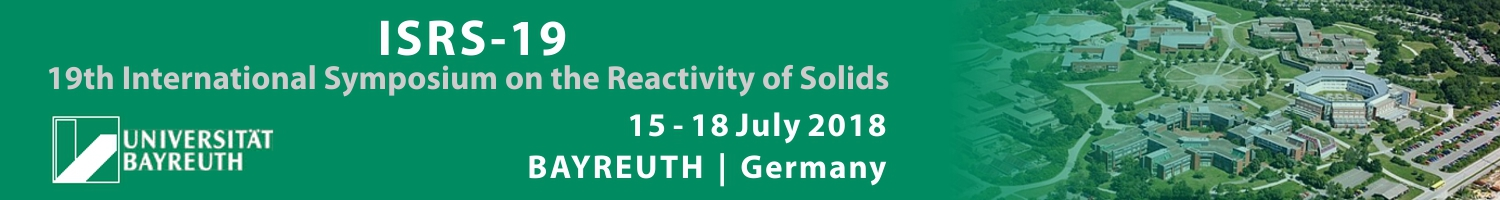19th International Symposium on the Reactivity of Solids (ISRS-19